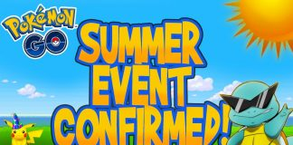 Pokemon GO summer event