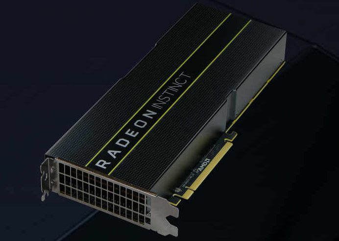 AMD Radeon Instinct MI25 MI8 and MI6 launched