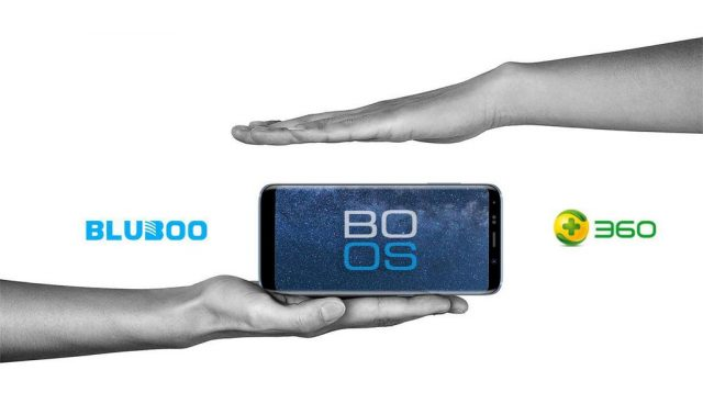 BLUBOO S8 BO-OS Android Security System