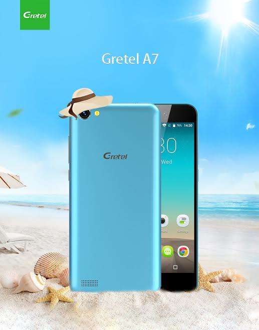 Gretel A7 Sunny Blue