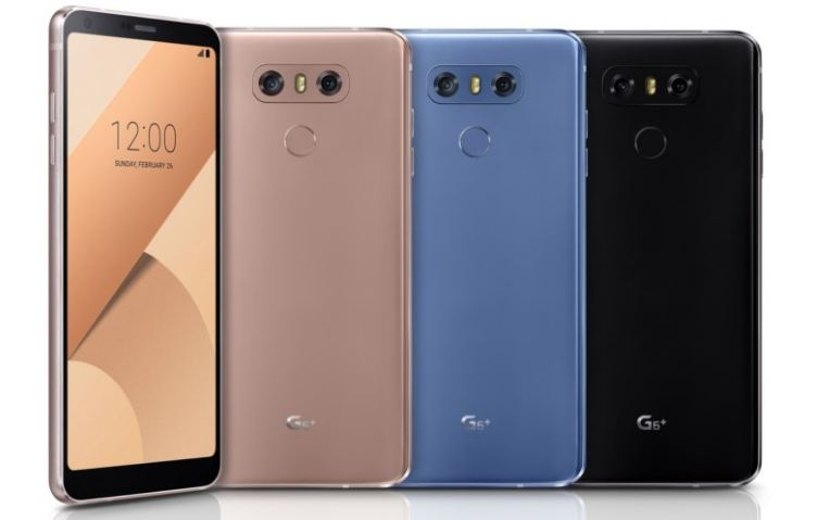 LG G6 Plus launched