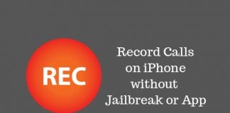 how to record iphone calls