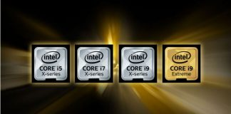 intel core x lineup price