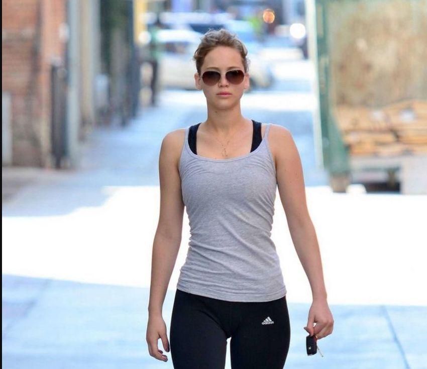 Jennifer Lawrence fitnesss