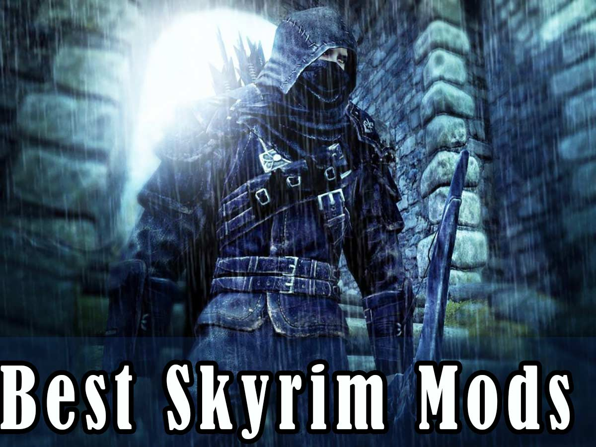 how to use mods for skyrim
