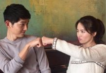 Song Joong Ki and Song Hye Kyo - Descendant Of The Sun actors