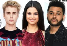 justin bieber selena gomez the weeknd