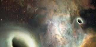 orbiting supermassive blackholes