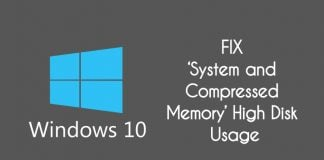 system and compressed memory high usage