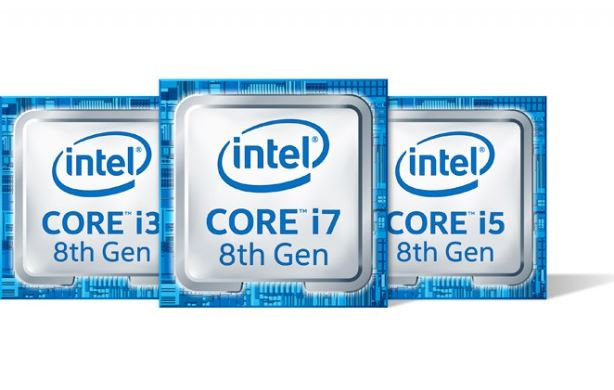 Intel launhed 8th generation CPU