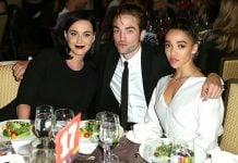 Katy Perry and Robert Pattinson