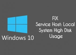 how to fix Service Host Local System (Network Restricted) High Disk Usage in windows 10 pc