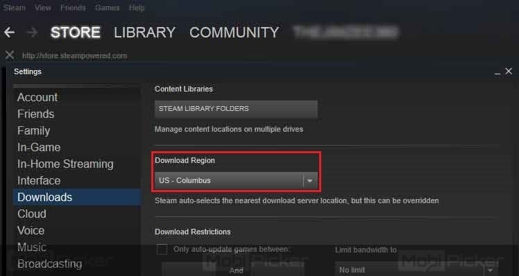 steam update disk write error