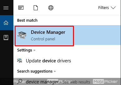 how to open device manager in windows 10 pc