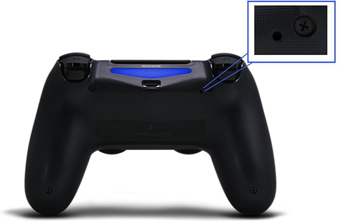 reset ps4 controller to fix ps4 controller not charging issue