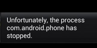 how to fix unfortunately the process com.android.phone has stopped error on android smartphones