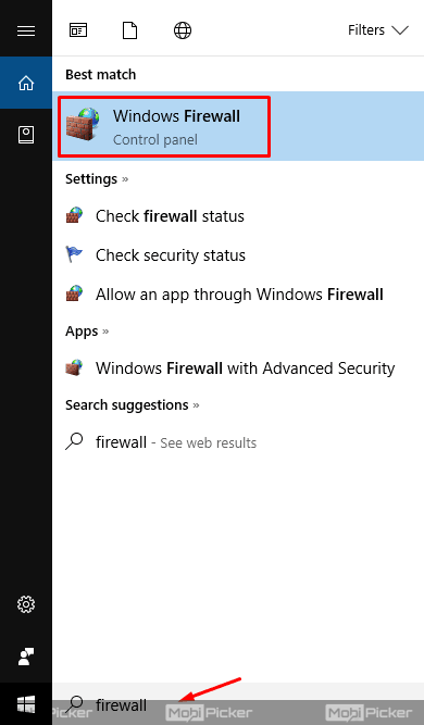 disable firewall to fix DNS_PROBE_FINISHED_BAD_CONFIG on windows 10