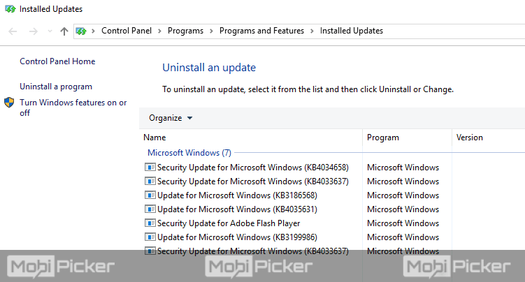uninstall update to fix this copy of windows is not genuine permanently