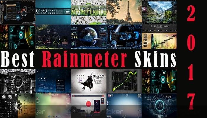 20 Best Rainmeter Skins 2018 | Amazing Themes for Windows 10