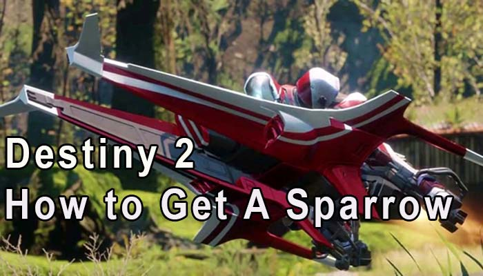 how to get sparrow in destiny 2