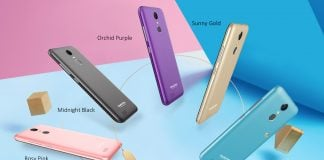 OUKITEL C8 5 COLORS