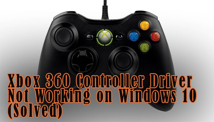 windows 7 xbox one controller driver wireless