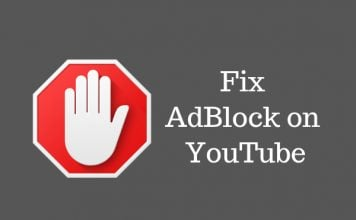 adblock not working on youtube