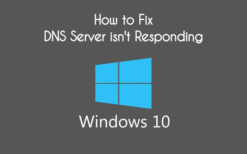 how to fix a dns server problem