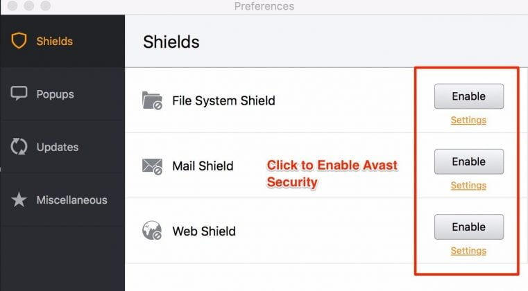 How to Disable Avast Temporarily on Windows and Mac OS