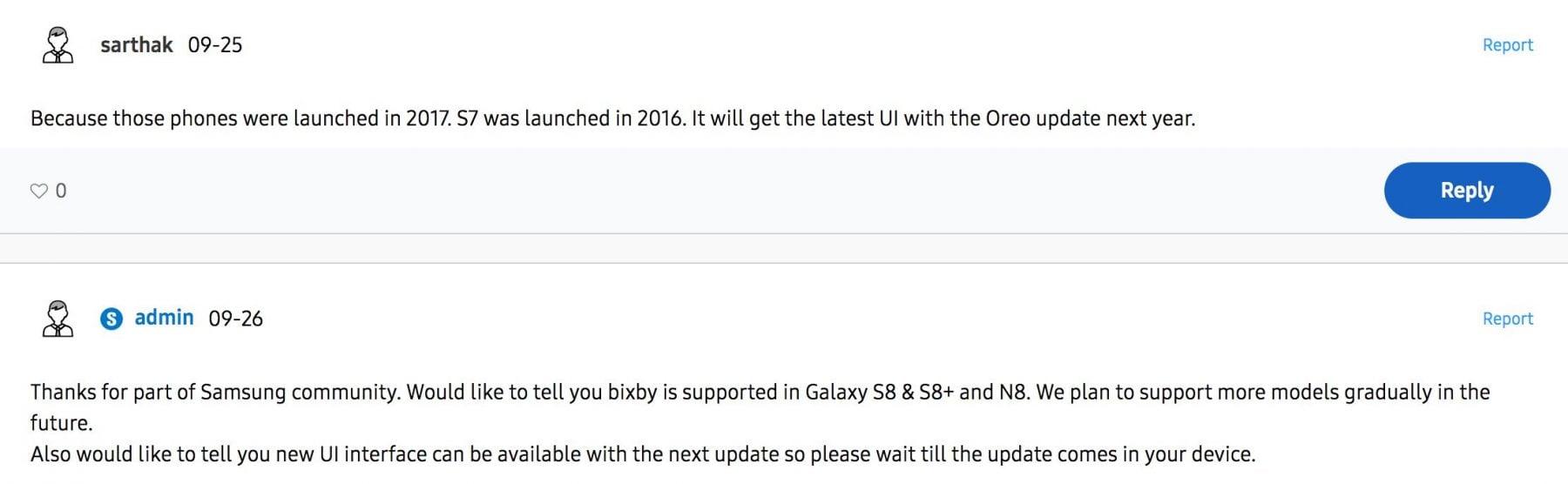 galaxy s7 oreo update