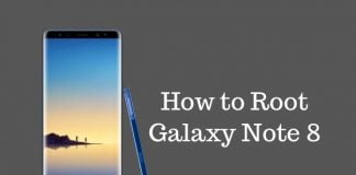 how to root galaxy note 8