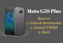 how to root moto g5s plus
