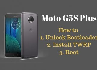 how to root moto g5s plus