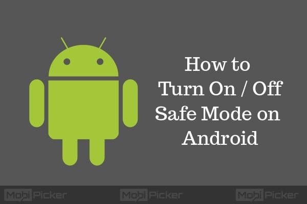 how to reboot android in safe mode