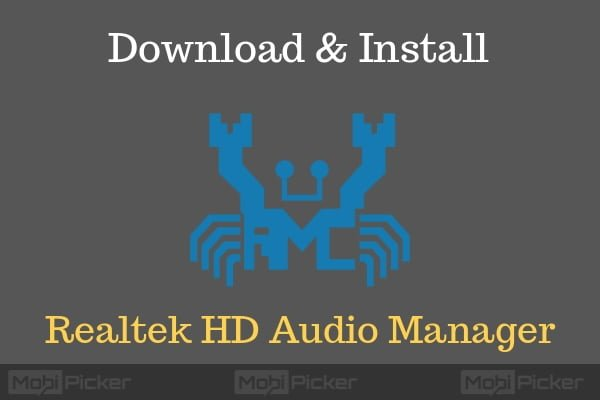 How to Reinstall Latest Realtek HD Audio Manager on Windows