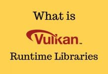 vulkan runtime libraries