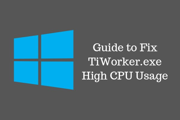 what is use of tiworker.exe