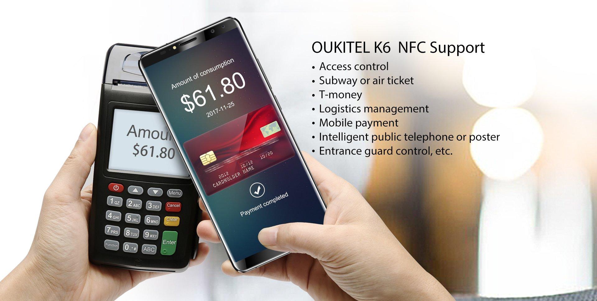 OUKITEL K6